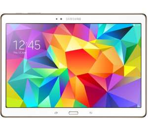 """SAMSUNG Galaxy Tab S 10.5"""" Tablet £379.99 with code (£329.99 after samsung cashback) in Currys"""