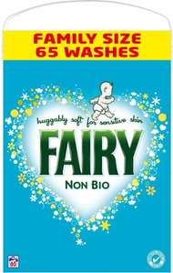 Fairy Non Bio Washing Powder (65 Washes/4.2KG) £9.99 @ B&M