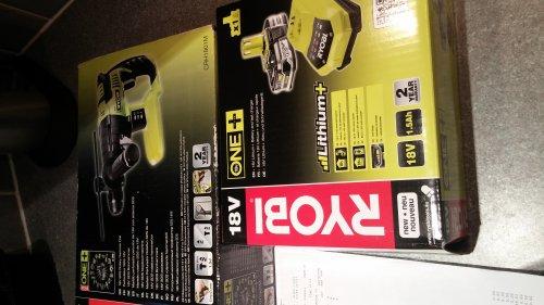 Ryobi one+ 18v SDS rotary hammer drill £31.20 @ Makro