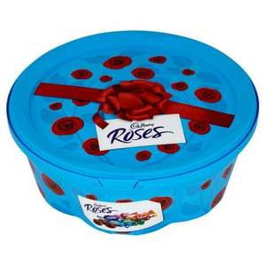 Plastic 753g Tubs of Roses, normally £5 Scanning at £3 @ Tesco instore