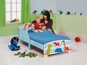 Dinosaur Toddler Bed - Argos Ebay outlet £35.99