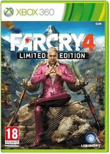 Far Cry 4 (Xbox360/PS3) £30.19 with code @ Base via Rakuten.co.uk
