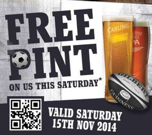 FREE pint @ The Hungry Horse