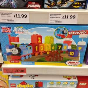 Mega Blocks Thomas & Friends £3.90 reduced from £12.99 @ Sainsburys instore