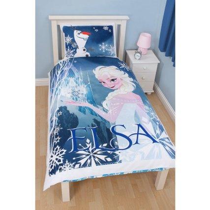 Disney Frozen single duvet set (the nice Elsa one) at B&M Retail £16.99