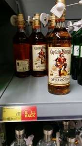 Captain Morgan Spiced Rum £11.00 instore at Asda
