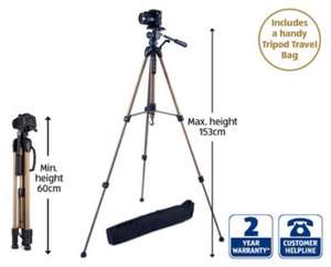 Camera tripod £12.99 at Aldi from 20th November