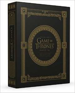 Inside Game Of Thrones Boxset - Seasons 1-4 £19.99 @ The Works