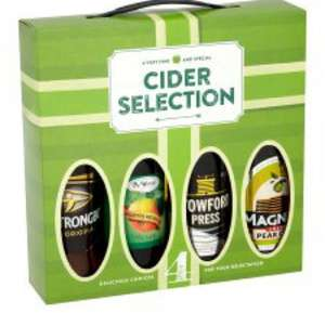 Cider gift set £5.00 @ Tesco
