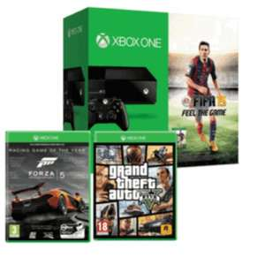 Xbox One - GTA 5, FIFA 15, Forza 5 Bundle £349 @ Game