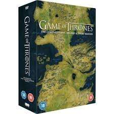 Game Of Thrones Season 1-3 (DVD Boxset) £35 @ Tesco