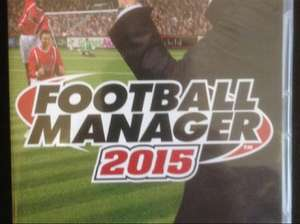 Football Manager 2015 only £15.00 at Kidderminster Harriers Club Shop