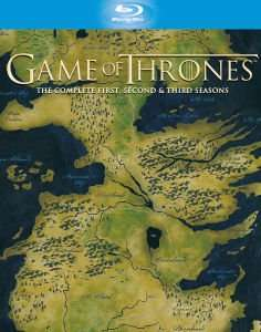 Game of Thrones - Seasons 1-3 Blu-ray £35.99 with code @ Zavvi