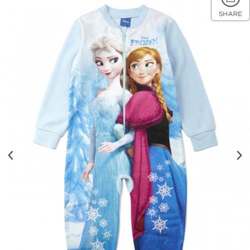 Children's Frozen onesie from £12.60 - £14.40 @ BHS