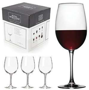 Royal Worcester boxed set of 4 quality French wine glasses (white, red & champagne flutes available). Was £25 now £7.99 at BHS