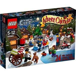 Lego City Advent Calendar - 60063 (20% off) now £15.99 at ARGOS