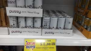 Pussy Juice 2 for £1.00 at Home Bargains