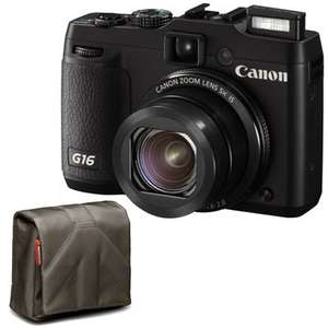 Canon Powershot G16 £284.74 at WEX using PayPal voucher, £244.74 after cash back.