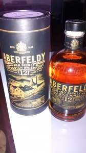 TESCO Aberfeldy 12 year old single malt scotch whiskey 700ml dewers £17.50