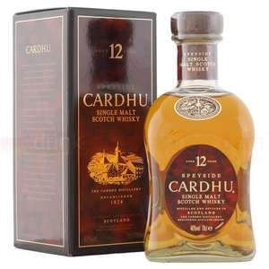 Cardhu 12 Year Old Whisky Reduced to Clear £17.50 @ Tesco instore
