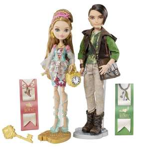 Ever After High Ashlynn Ella and Hunter Huntsman Dolls - 2 dolls  £18.59 @ Amazon / net_price_direct.