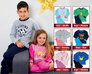 Children's Pyjamas 3.99 @ aldi from 23rd