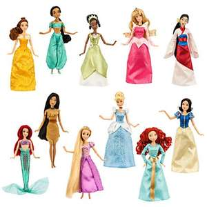 Disney princess deluxe set of 11 dolls £62.70 @ Disney Store