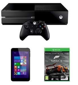 "Xbox One Console Including Forza 5: Game Of The Year Edition And 7"" Linx Tablet (Windows 8 & Office 365) £349 Delivered @ Amazon"
