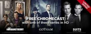 Free Chromecast with the order of Suits Season 3 £19.99 @ Wuaki TV
