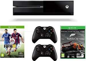 Xbox One with FIFA 15 and Forza 5 + extra controller £349.85 @ Amazon