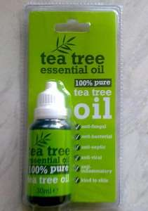 Tea tree essential oil 100%pure 30ml £1.99 @ savers