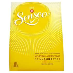 Senseo coffee 20 mug pads: 3x for £10 (instead of £12) @ Tesco til 2/12 (£3.33 each)