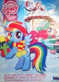 My Little Pony Chocolate Advent calendars 49p at Homebargains