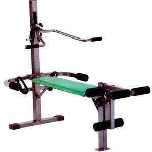 LINEAFLEX GREEN DUMBELL BARBELL WORKOUT BENCH @ £47.98 plus £4.99 Delivery - Boffer