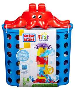 Mega Bloks First Builders Build N Splash Bath Blocks only £7.49 & FREE Delivery in the UK on orders over £10 Amazon