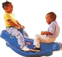Little Tikes Whale Teeter Totter - Blue , £20.83 delivered at Amazon