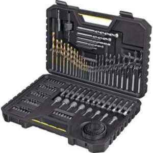 Stanley 100 Piece Drill Bit Set £19.99 @ Argos