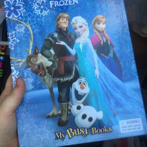 Frozen busy books £3.90 instore at Asda