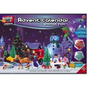 Grafix Block Tech Advent Calendar £4.99 instore at This Is It Paignton
