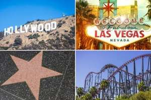 Awesome USA Trip in 2015: Las Vegas, Los Angeles & Six Flags Magic Mountain Trip including Flights, Hotels & Car Hire just £579 each @ Holiday Pirates