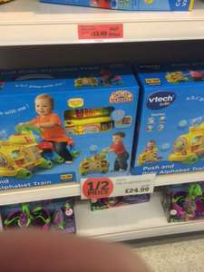 Vtech Push and Ride Alphabet Train HALF PRICE £24.99 @ Sainsburys