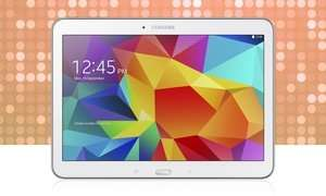 "Groupon Samsung Galaxy Tab 4 10.1"" - 16GB in White for £204.98"
