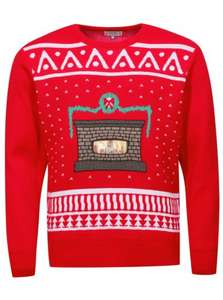 Digital Dudz Christmas Fireplace Jumper for £14.00 @ direct.asda.com