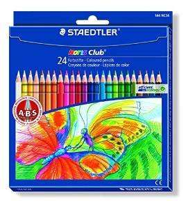 Staedtler Noris Club 144 NC24 Colouring Pencils - Assorted Colours (Pack of 24) at Amazon £4.01 (free delivery £10+)