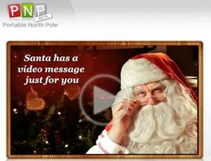 FREE Personalised Video from Santa from the PNP - (Portable North Pole)
