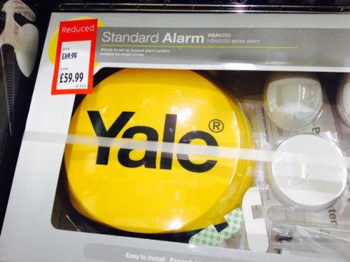 Yale standard burglar alarm £59.99 @ Aldi