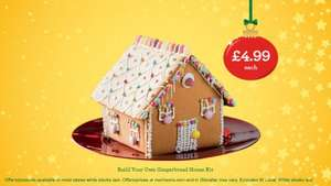 Build Your Own Gingerbread House Kit £4.99 @ Morrisons