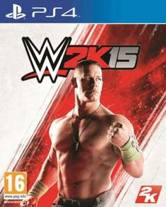WWE 2K15 - PS4 or XBOX ONE with 3 months online subscription £46 (using TDX-7KPG) TESCO DIRECT