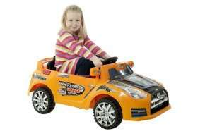 Xenta Electric 6V City Orange Ride On Race Car With Remote Control - £39.99 Delivered @ Ebuyer