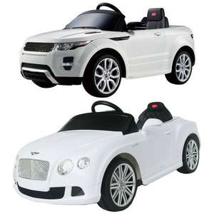 Electric Range Rover Evoque or Bentley Contental Ride On Car with Remote Control on eBay for £159.99 @ thinkprice